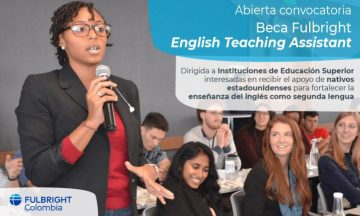 Beca Fulbright English Teaching Assistant / @ Colombia