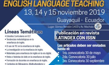 II Congreso Internacional de Docencia e Investigación en English Language Teaching / @ Ecuador