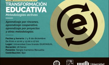 Capacitación en Transformación Educativa / @ Ecuador