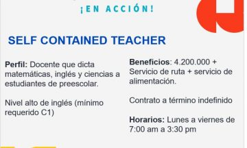 Self Contained Teacher / @ Colombia