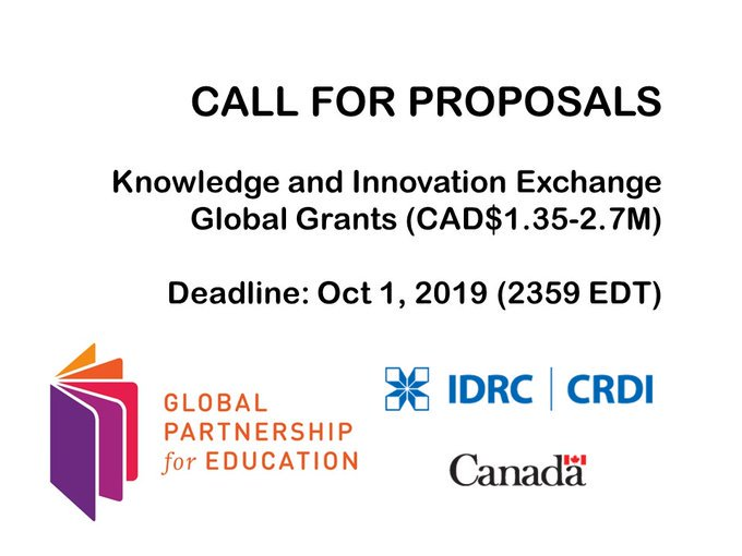 KIX global call for proposals: Strengthening education systems with proven innovations / @ Latinoamérica
